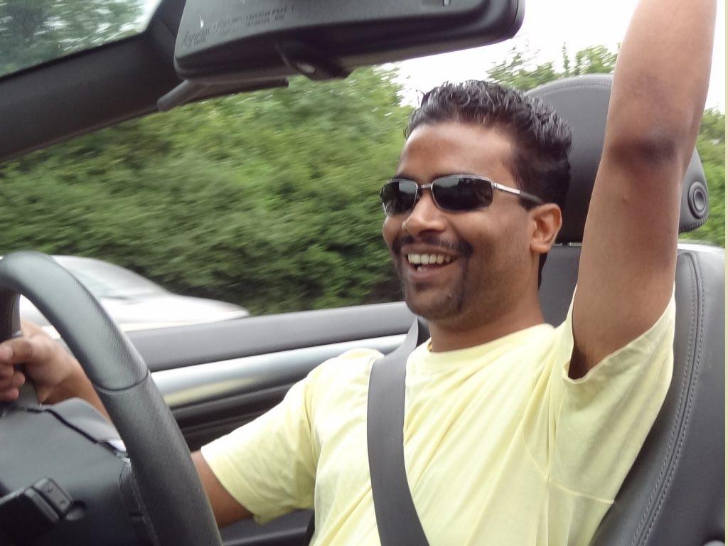 Lukman Chowdhury Driving
